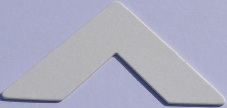 875CL Soft White Calico Passe-Partout (paspartu) karton dekoracyjny Slater Harrison