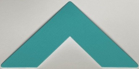 Colourmount 3993 Aqua (Akwamaryna) Passe-Partout (paspartu) karton dekoracyjny Slater Harrison