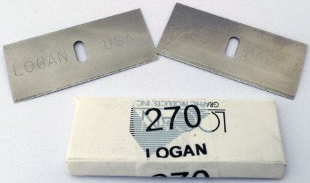 Ostrza Logan 270 do wycinania passe-partout - 5 sztuk