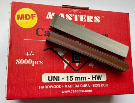 S28MDF - Klamry UNI 15 mm  do MDF firmy Cassese