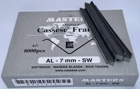 S45 - Klamry AL 7 mm do miękkiego drewna firmy Cassese