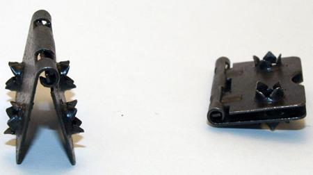 Zestaw 100 sztuk - K11 Zawias wciskowy