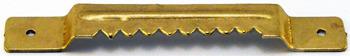 Zestaw 100 sztuk - K16 Zawieszka ząbkowana na gwoździki