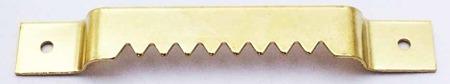Zestaw 100 sztuk - ZK16 Zawieszek ząbkowanych na gwoździki
