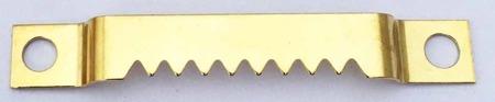 Zestaw 100 sztuk - ZK17 Zawieszka ząbkowana na wkręty