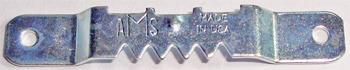 Zestaw 1000 sztuk - A1 - Zawieszka na gwoździki firmy AMS